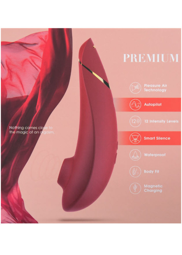 Womanizer Premium Red Clitoral Stimulator