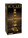 Icicles Gold Editon G06 Vibrating Glass Dildo
