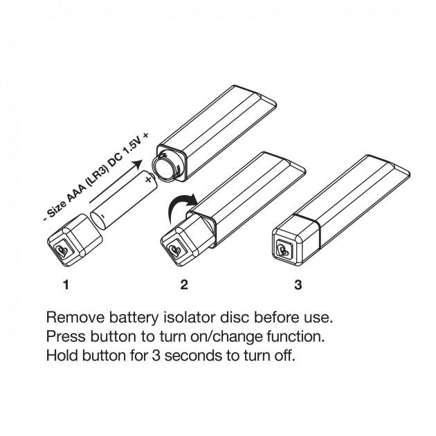 Rocks-Off Bamboo Sunburst 10-Speed Bullet Vibrator